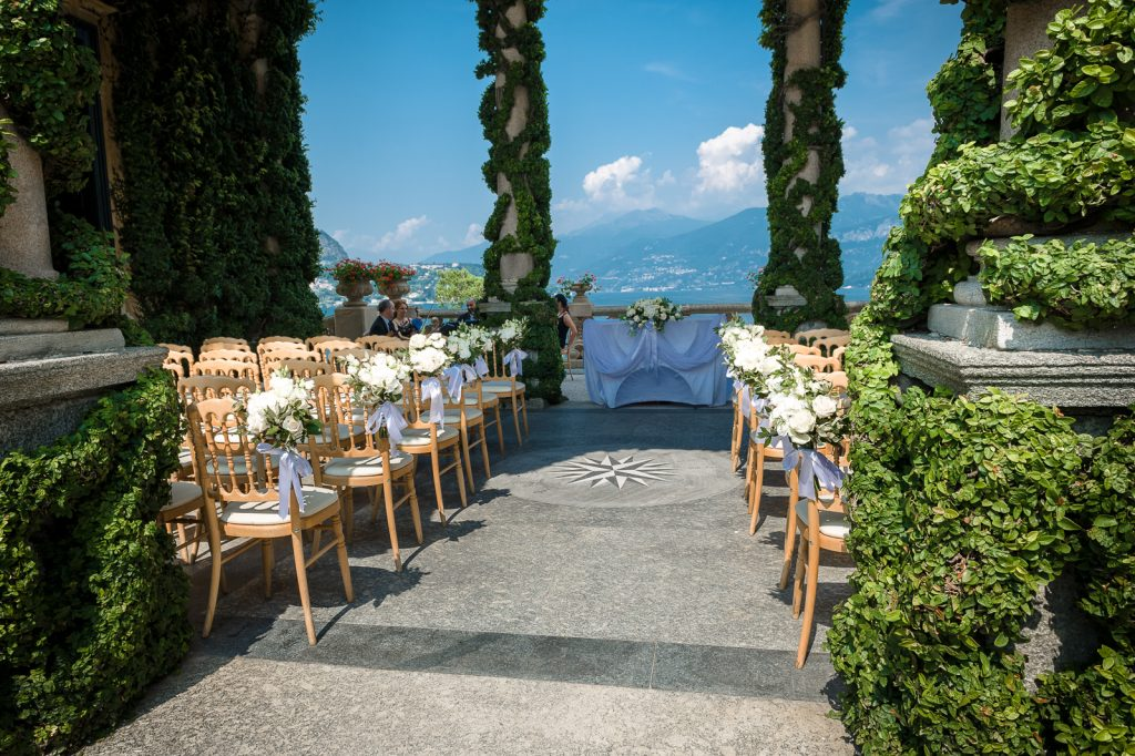 Wedding in Italy Balbianello