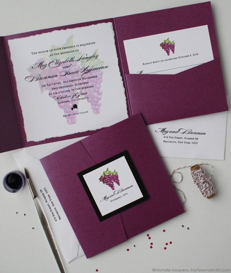 Wine stationery