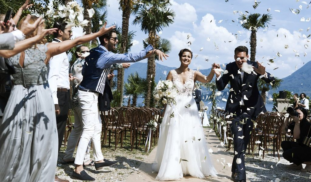 A sophisticated wedding on Lake Maggiore