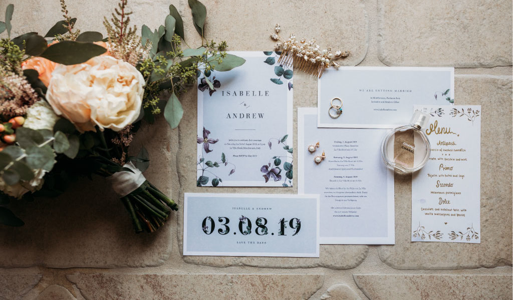 Top 10 items every couple should have in their wedding stationery
